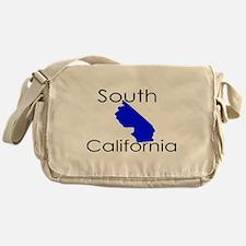 South California Blue State Messenger Bag