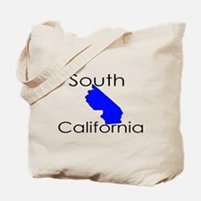 South California Blue State Tote Bag