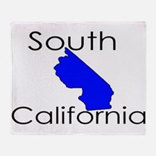 South California Blue State Throw Blanket