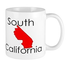 South California Red State Mug