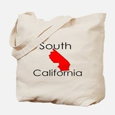 South California Red State Tote Bag