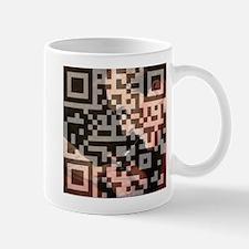 Sherlock Holmes QR Art Mug