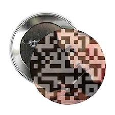"""Sherlock Holmes QR Art 2.25"""" Button"""