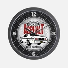 Kicking Asphalt - Demon Wall Clock