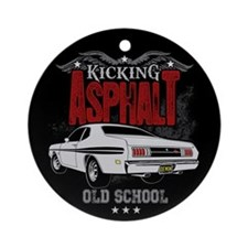 Kicking Asphalt - Demon Ornament (Round)