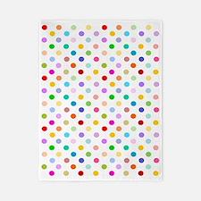 Rainbow Polka Dots Twin Duvet
