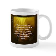 Plato On Music Mug