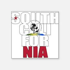 """South California Square Sticker 3"""" x 3"""""""