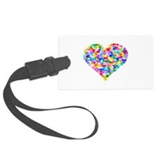 Rainbow Heart of Hearts Luggage Tag