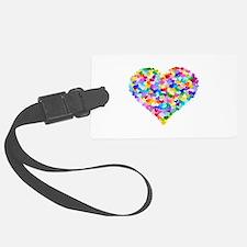Rainbow Heart of Hearts Luggage Tag