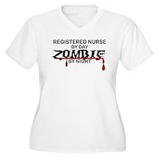 Registered Nurse Zombie T-Shirt