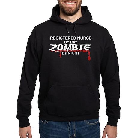 Registered Nurse Zombie Hoodie (dark)