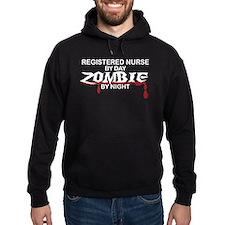 Registered Nurse Zombie Hoodie