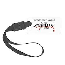 Registered Nurse Zombie Luggage Tag