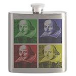 Pop Art Shakespeare Flask
