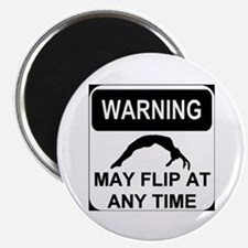Warning may flip Magnet