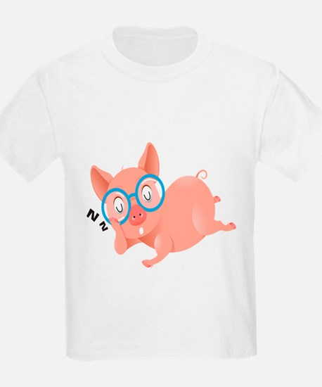 The Sleeping Pig Kids Shirt T-Shirt