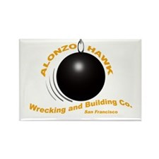 Alonzo Hawk Building and Wrecking Co. Metal Magnet