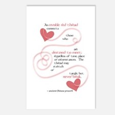 Invisible Red Thread Postcards (Package of 8)
