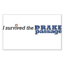 I survived the Drake Passage Bumper Stickers