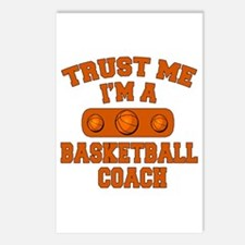 Trust Me Im a Basketball Coach Postcards (Package