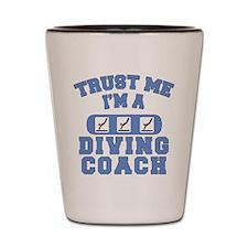 Trust Me I'm a Diving Coach Shot Glass