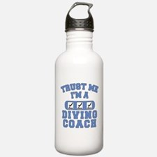 Trust Me I'm a Diving Coach Water Bottle