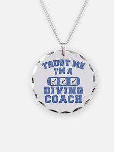 Trust Me I'm a Diving Coach Necklace
