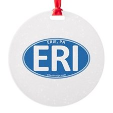 Blue Oval ERI Ornament