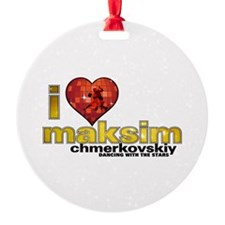 I Heart Maksim Chmerkovskiy Ornament