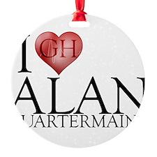 I Heart Alan Quartermaine Ornament