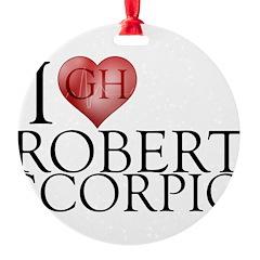 I Heart Robert Scorpio Ornament