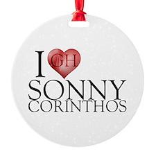 I Heart Sonny Corinthos Ornament