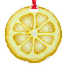 Lemon Slice Ornament