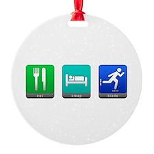Eat, Sleep, Blade Ornament