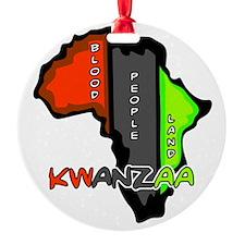 Kwanzaa Africa Ornament