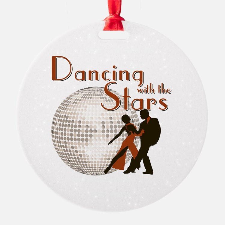 Retro Dancing with the Stars Ornament