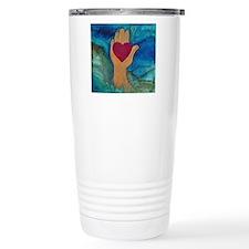 Heart in Hand Travel Mug