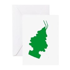 pine Greeting Cards