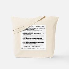 Crochet Addict Tote Bag