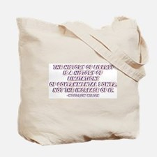 """History of Liberty"" Tote Bag"