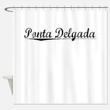 Ponta Delgada, Aged, Shower Curtain