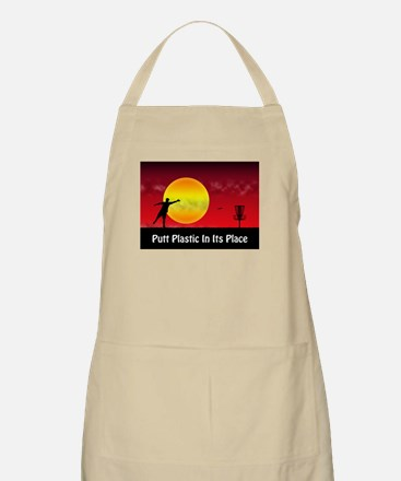 Putt Plastic In Its Place Apron