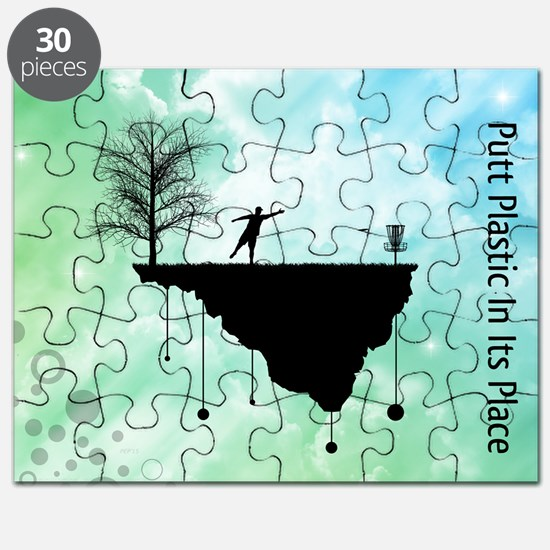 Putt Plastic In Its Place Puzzle
