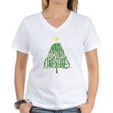 Christmas shirts Womens V-Neck T-shirts