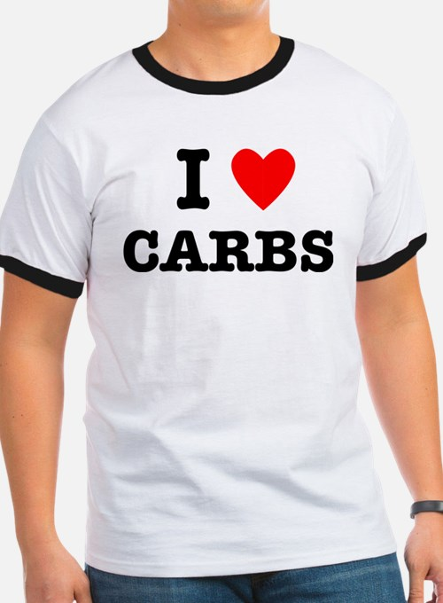 I Love Carbs Funny Diet T