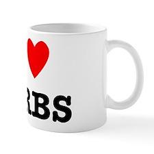I Love Carbs Funny Diet Mug