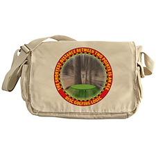 Disc Golf Logic Messenger Bag