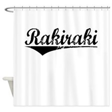 Rakiraki, Aged, Shower Curtain