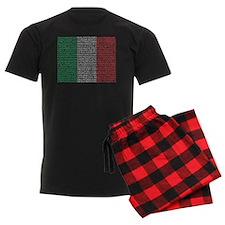 Italian Cities Flag pajamas